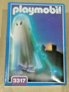 PLAYMOBIL 3317 GLOW-IN-THE-DARK GHOST NEW IN BOX VINTAGE ©1993
