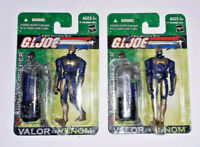 GI JOE VvV Cobra Night Creeper Action Force Figure Lot MOC MIP Valor Vs Venom x2