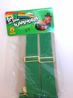 Green Adult Suspenders Christmas Wedding St.Pat's Day Halloween Rubies Costume