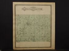 Missouri, Monroe Cty. Map, Union or Clay/Woodlawn Township Dble Sided 1917 K6#50