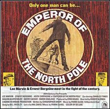 EMPEROR OF THE NORTH POLE original 1973 large 6-sheet movie poster LEE MARVIN