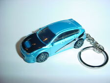 NEW 3D BLUE SUBARU WRX STI CUSTOM KEYCHAIN keyring key HOT FURIOUS BRIAN BLING!!