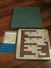 Selchow & Righter 1977 Scrabble Deluxe Edition Turntable Vintage - Excellent