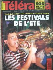 2162 MICHEL BOUQUET ANTOINE BLONDIN TéLé LE SERVICE PUBLIC TAZIEFF TELERAMA 1991