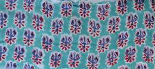 Cotton Indian Fabrics 10 Yard Hand block Print Running Loose Printed Decor