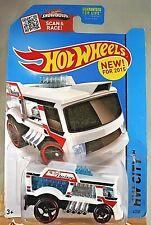2015 Hot Wheels #4 HW City-HW City Works CHILL MILL White Variation w/Black OH5s