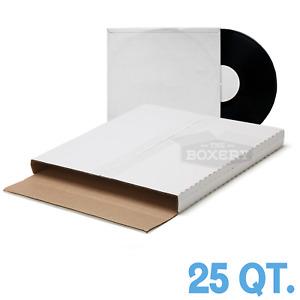 25 ~ ( PREMIUM ) LP VINYL RECORD ALBUM BOOK or BOX MAILERS