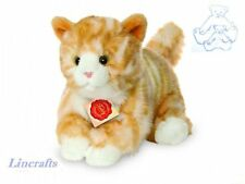 Ginger Cat Plush Soft Toy Kitten by Teddy Hermann Collection. 90697