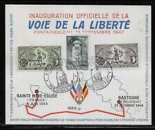 Belgium Wwii Liberation Card Cb1-2 with Roosevelt Overprint