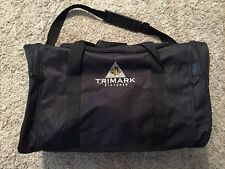 "Trimark Pictures 20"" Black Duffle Bag"