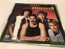 """Queen Radio Gaga Rare Japanese Original 7""""ps Import Vinyl Japan"""