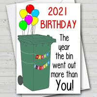 Funny Birthday Card LOCKDOWN 2021 Rude card for your family or friends partner
