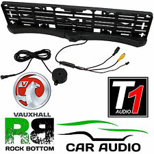 2 Reverse Parking Sensors & Rear Camera Car Number Plate Kit for VAUXHALL ZAFIRA