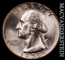 1955 Washington Quarter- Choice Gem Brilliant Uncirculated #T1399