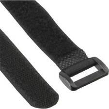 InLine® Klettschlaufen Set, 5 Stk. 20x300m + 5 Stk. 20x500mm, schwarz