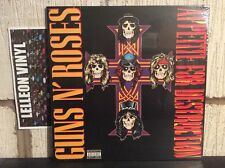 Guns N' Roses Appetite For Destruction 180g LP 720642414811 NEW SEALED Rock 80's