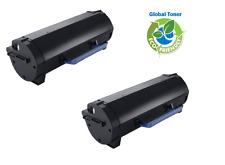 2PK LEXMARK 501H 50F1H00  Black Toner to MS310 MS410 MS510 MS610 High Yield 5K