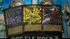 Custom Yugioh Oricas: Full Art Egyptian God Card Set (Pro Series)
