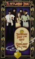 FLEETWOOD MAC / STEVIE NICKS 1977 RUMOURS TOUR OAKLAND STADIUM CONCERT POSTER