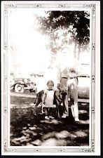VINTAGE PHOTOGRAPH 1936-38 GERMAN SHEPHERD DOG PUPPY PUP WATERLOO IOWA OLD PHOTO