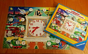 Thomas & Friends Right on Time 60 piece Clock Jigsaw Puzzle learn to tell time