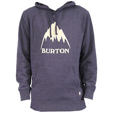 BURTON Mens 2018 - Classic Mountain Pullover Hoodie - Mood Indigo Heather