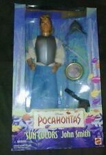 1995 Barbie - Mattel - Disney - Pocahontas Doll - John Smith - Sun Colors #13329
