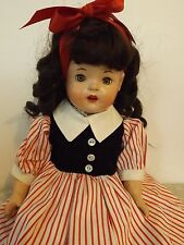 "Vintage Horsman Rosebud 18"" Doll with Cute Dimples!"