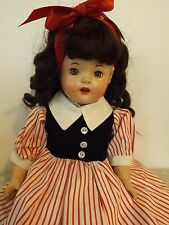 Vintage Composition Doll with CUTE DIMPLES!
