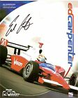 2005 ED CARPENTER signed INDIANAPOLIS 500 PHOTO CARD POSTCARD INDY CAR Toyota wC