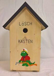 Vogelhaus Schnapsbar Zwitscherkasten mit Gläser Vogel Vogelhaus Löschkasten