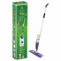 NEW Hard Floor Spray Mop LIQUID Spray Cleaner Microfibre Cleaning Pad Wood Tiles