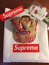 supreme washed chino twill camp cap Floral SS18