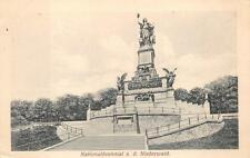 Bingen Germany Nationaldenkmal Ad Niederwald Ww1 Military Feldpost Postcard 1915