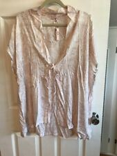 VICTORIA'S SECRET  CAFTAN SWIM COVERUP DRESS OSFM