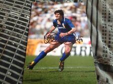 Paolo Rossi mano firmado 12 X 8 Foto Italia meta Juventus Leyenda Copa del mundo certificado de autenticidad 4