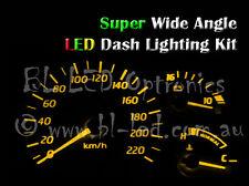 Amber Cluster Dash LED Kit Fits Nissan Pulsar N15 & Mitsubishi FTO GS GR GSR GPX