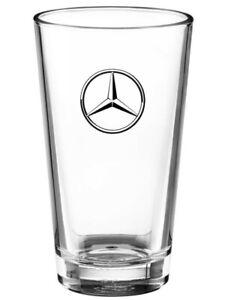 Original Mercedes-Benz Trinkglas Glas transparent Stern Logo