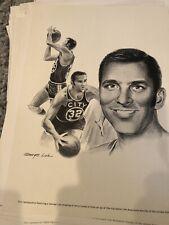 57 Prints George Loh Robert Riger Equitable Sports Lot Prints 1960 Mantle Unitas