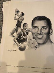 53 Prints George Loh Robert Riger Equitable Sports Lot Prints 1960 Mantle Unitas