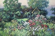 """ Cottage Garden  "" -PAUL LANDRY - LTD ED PRINT"