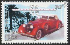 HISPANO SUIZA K6 CAR STAMP (2000 France)