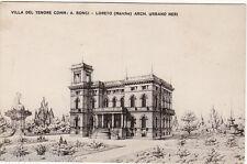#LORETO: VILLA DEL TENORE Comm. A. BONCI- arch. Urbano NERI