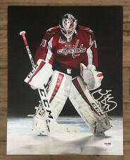 BRADEN HOLTBY Signed Auto 11x14 Hockey NHL Photo PSA/DNA AB18115 Capitals