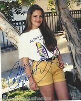CANDACE CAMERON-BURE SIGNED FULL HOUSE 8X10 PHOTO B W/COA DJ TANNER THE VIEW