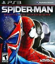 Spider-Man Shattered Dimensions RE-SEALED Sony PlayStation 3 PS PS3 GAME SM