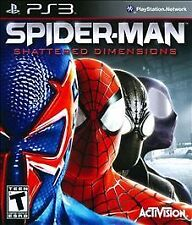 PLAYSTATION 3 SPIDER-MAN SHATTERED DIMENSIONS BRAND NEW PS3 VIDEO GAME