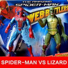 HASBRO AMAZING SPIDER-MAN WEB BATTLERS VS THE LIZARD ACTION FIGURES KIDS BOY TOY