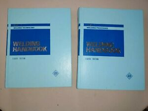 Volume One Welding Technology And Volume Two Welding Processes