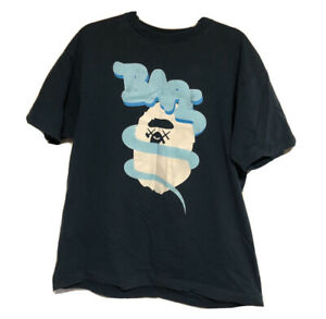 Bape x Kaws Ghost Ape T-Shirt
